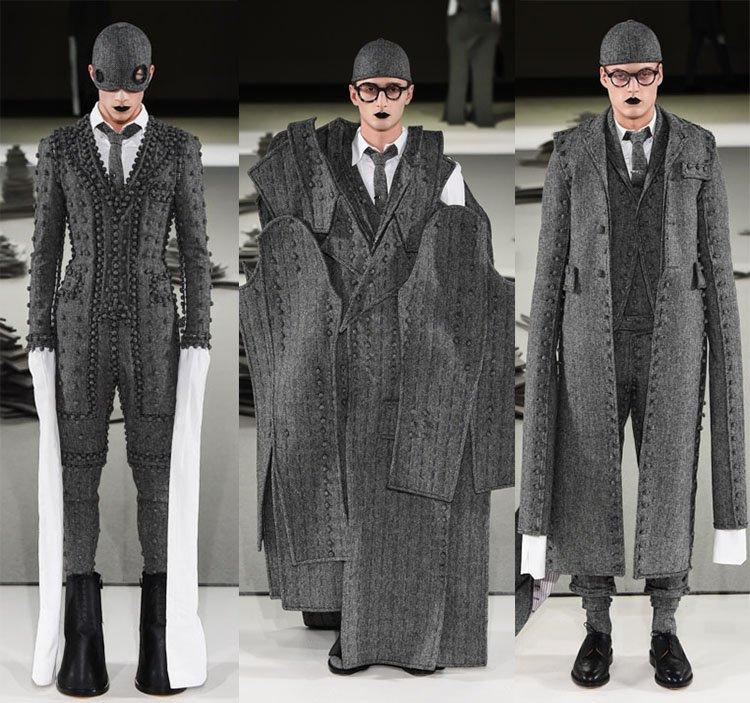 トム ブラウン ニューヨークが本日発表した17年秋冬コレクション 全ルック公開 fashion-pr…