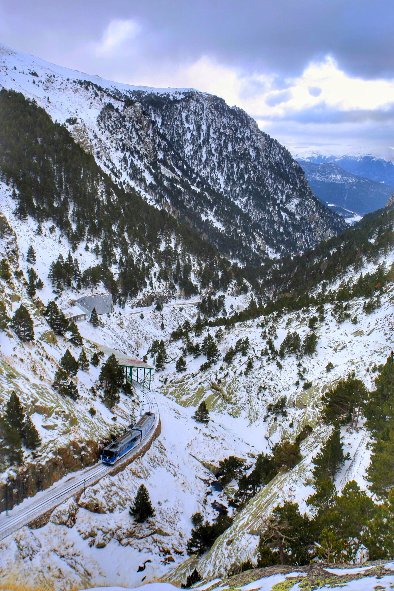 Today we're taking the rack rail train back out of the @ValldeNuria - looking forward to the views :) #inPyrenees https://t.co/ugDa3hKc3v