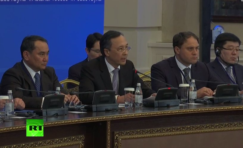 LIVE NOW: #Syria peace talks kick off in #Astana
