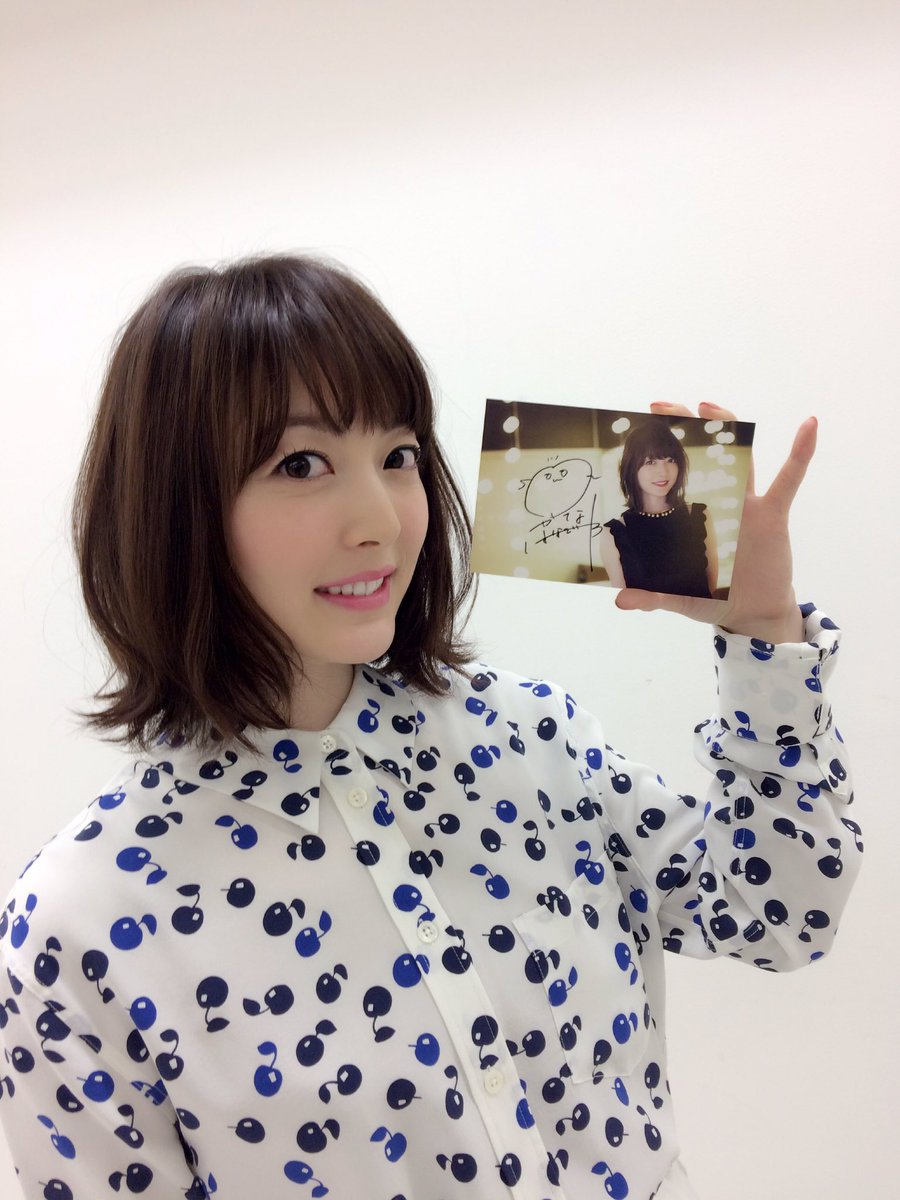 これ、花澤VISAカードのライブ特典企画のポストカードだって!! とにかく、カードお持ちの方もそうで…