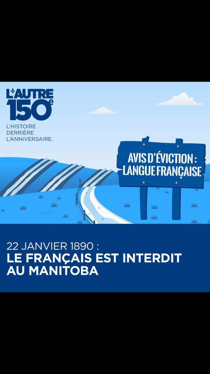 Rappelons-nous de nos compatriotes Franco-Manitobain et du génocide qu&#39;ils ont subit. Louis Riel en tête! Bonne fête #canada150  #Autre150e <br>http://pic.twitter.com/Y4p0Sg5rYt