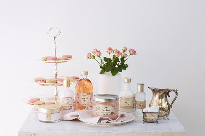 SABONから春限定「ローズティーシリーズ」 - バラの紅茶をイメージした甘く爽やかな香り fash…