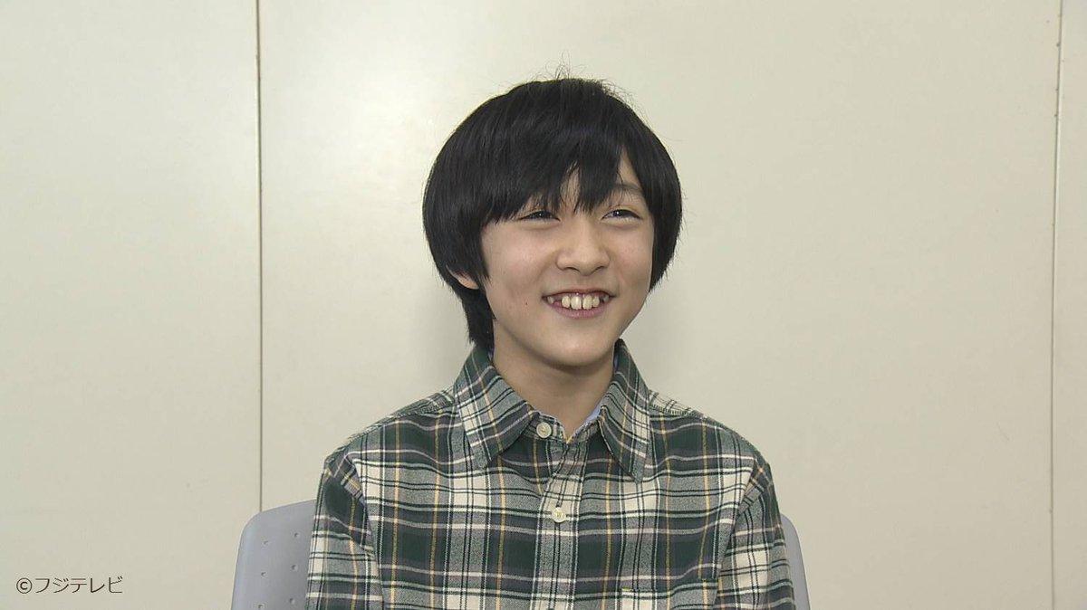 明日は!オリコン編集部イチオシの子役『小林颯くん』を特集!ドラマ「嘘の戦争」で一緒にお仕事している草…