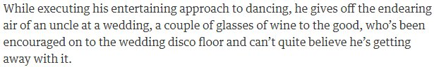 The Guardian\'s take on @edballs after the first night of Strictly Come Dancing\'s live tour