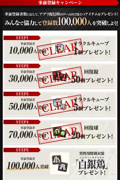 【GEブログ更新!】事前登録数7万人突破‼︎開発陣驚きのスピードです!皆様ありがとうございます!LI…