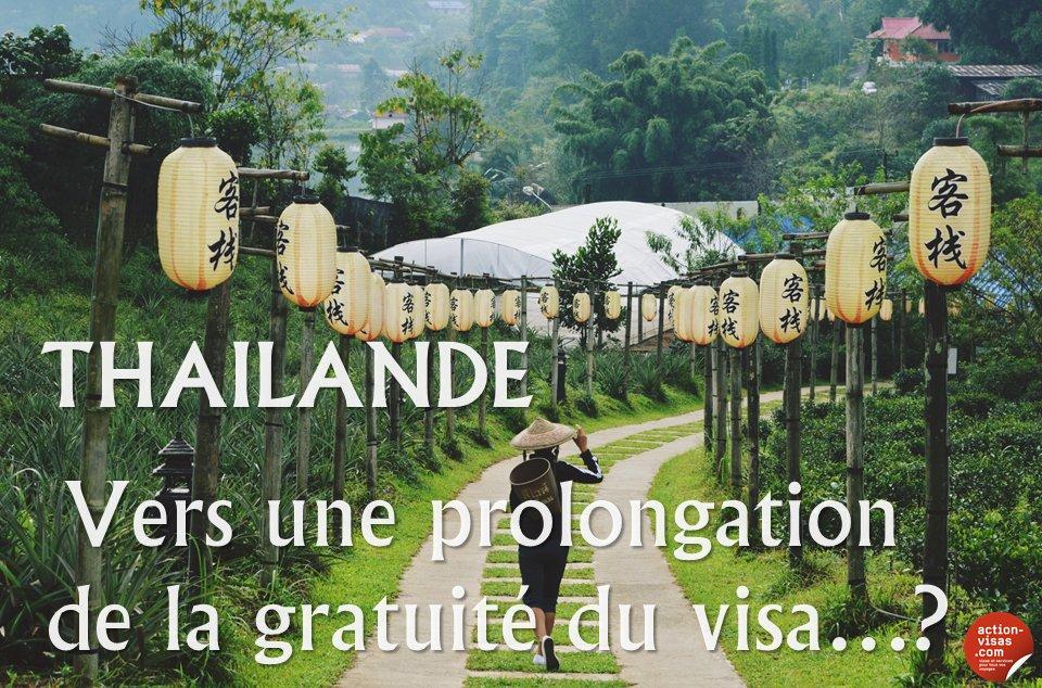 #THAILANDE  Vers une prolongation de la gratuité du visa de + de 30 jours...?  https://www. facebook.com/notes/action-v isas/tha%C3%AFlande-vers-une-prolongation-de-la-gratuit%C3%A9-du-visa-touristique-de-plus-de-30/1273606272677824 &nbsp; …  #visa #tourisme #voyage<br>http://pic.twitter.com/yImrLHHHbk