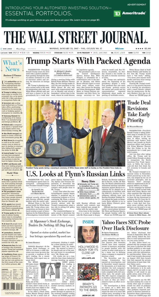 "The Wall Street Journal on Twitter: ""Take an early look at ..."