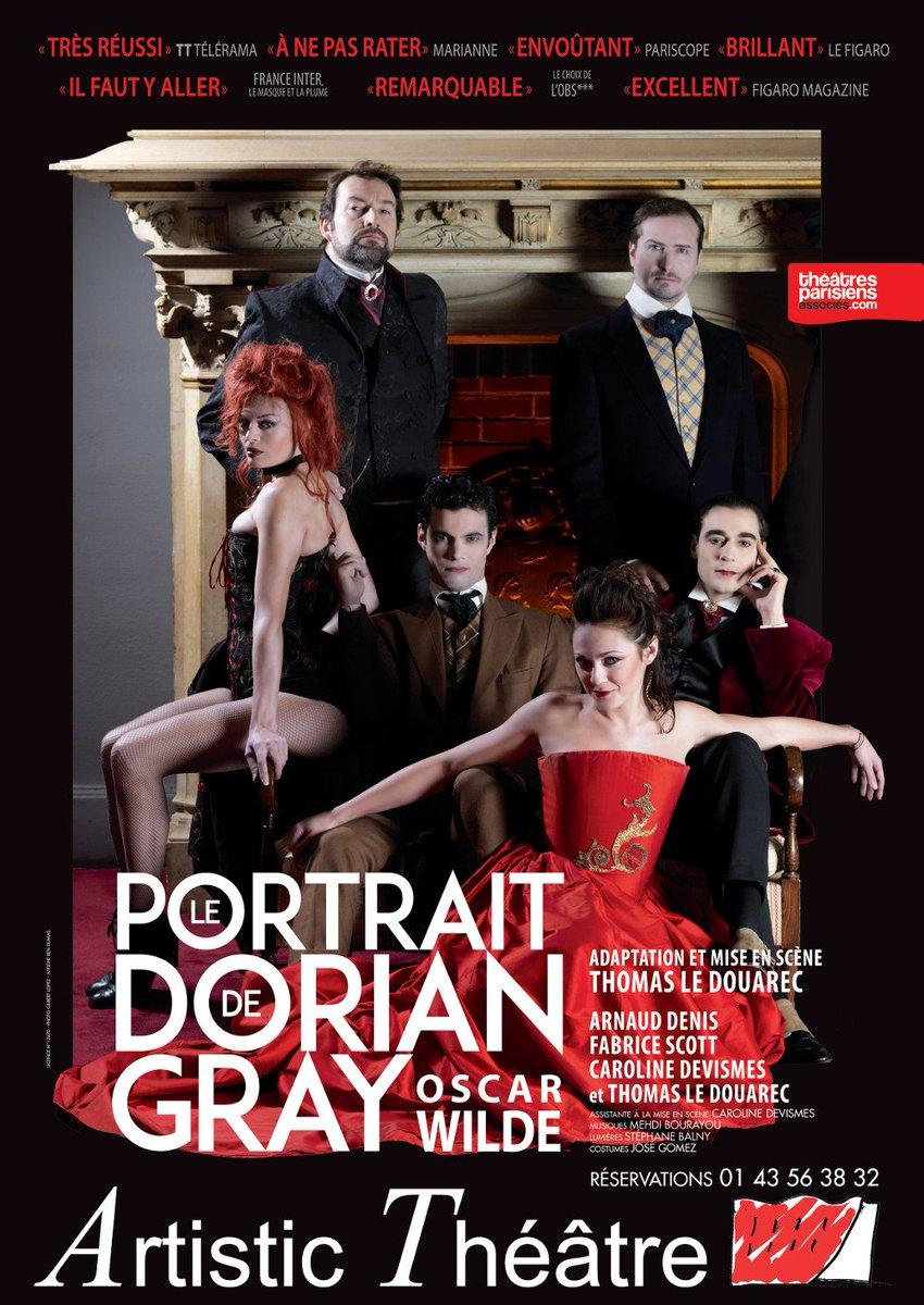 Meilleure progression dans le #top des ventes pour le #DorianGray à l&#39;@Artistic_Th ! N&#39;attendez pas  http:// bit.ly/2hSSvsv  &nbsp;  <br>http://pic.twitter.com/XhdGBQeGor
