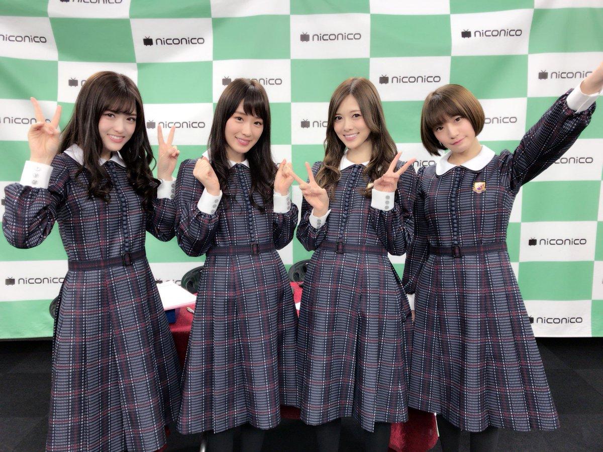 中田花奈、松村沙友理がMCのニコニコ生放送「生のアイドルが好き」スタートです! 今回は記念すべき第4…
