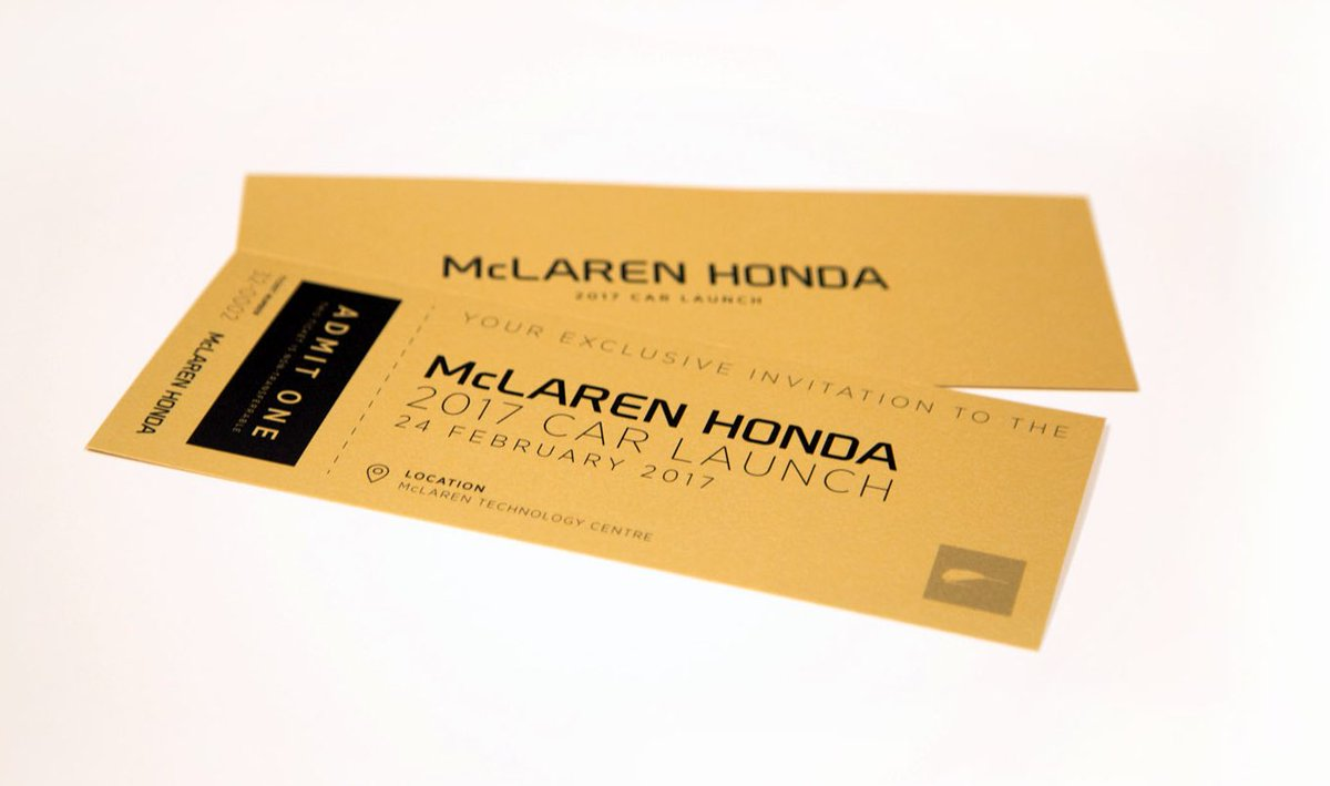 RT this post for your chance to win a super-rare #McLarenGoldenTicket to attend our 2017 car launch at #MTC. Mondays never looked so good. 💪