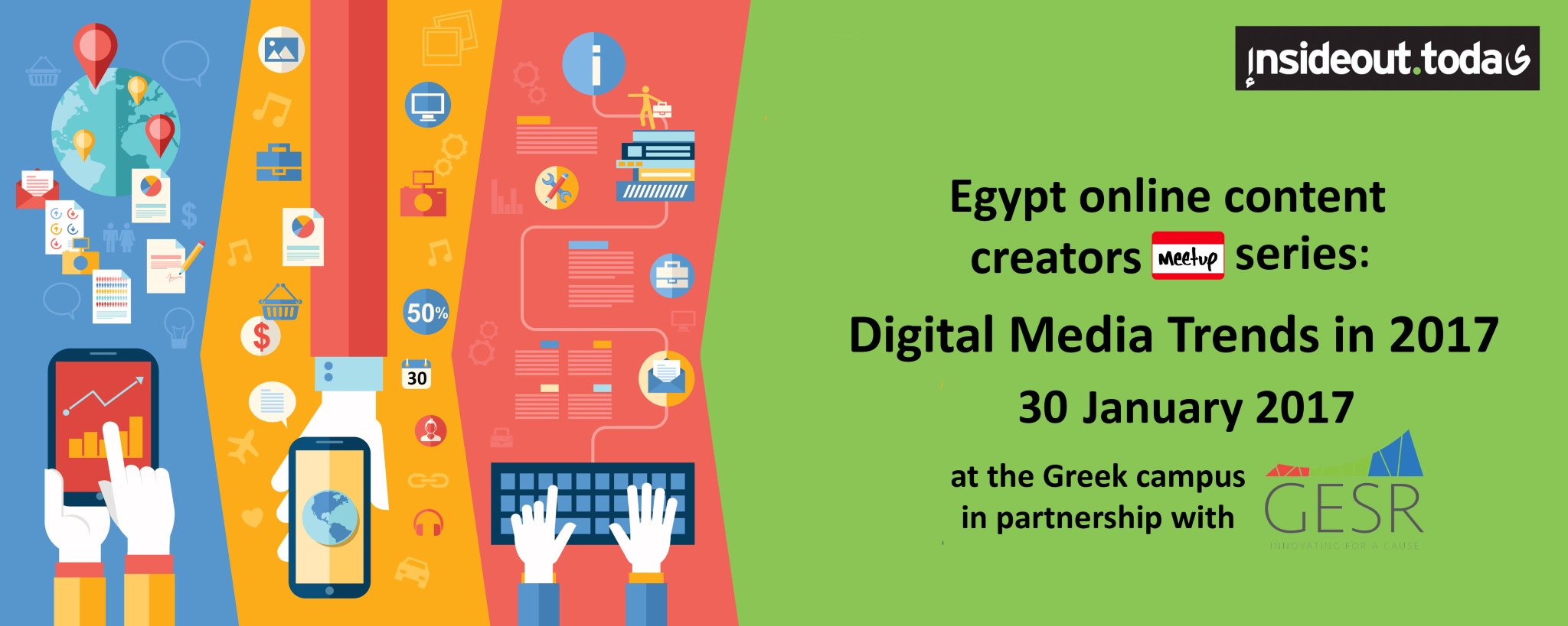 Thumbnail for Online Content Creators Meetup Series #OCCEgypt