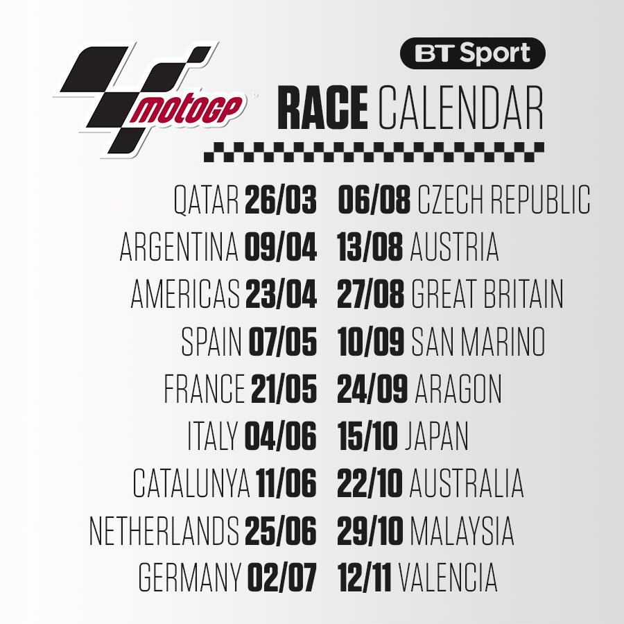 Watch MotoGP on BT SportVerified account