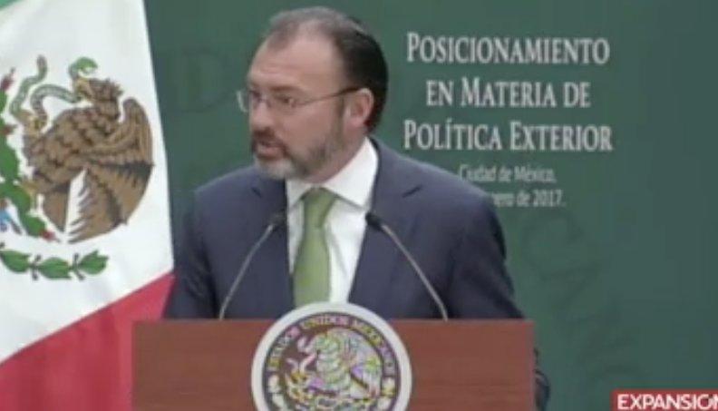 México es un socio indispensable para norteamérica: Videgaray https://...