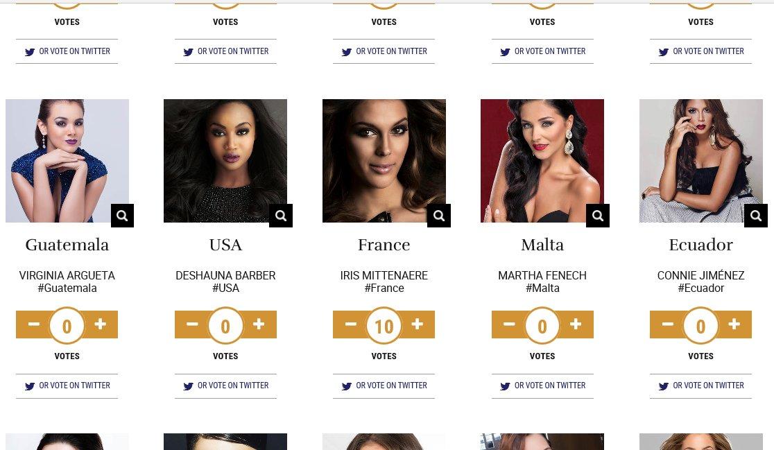 Vous aussi allez voter pour @IrisMittenaereO sur le site  http:// missunivers.com  &nbsp;   ! #France #MissUniverse <br>http://pic.twitter.com/NZQF33PAQZ