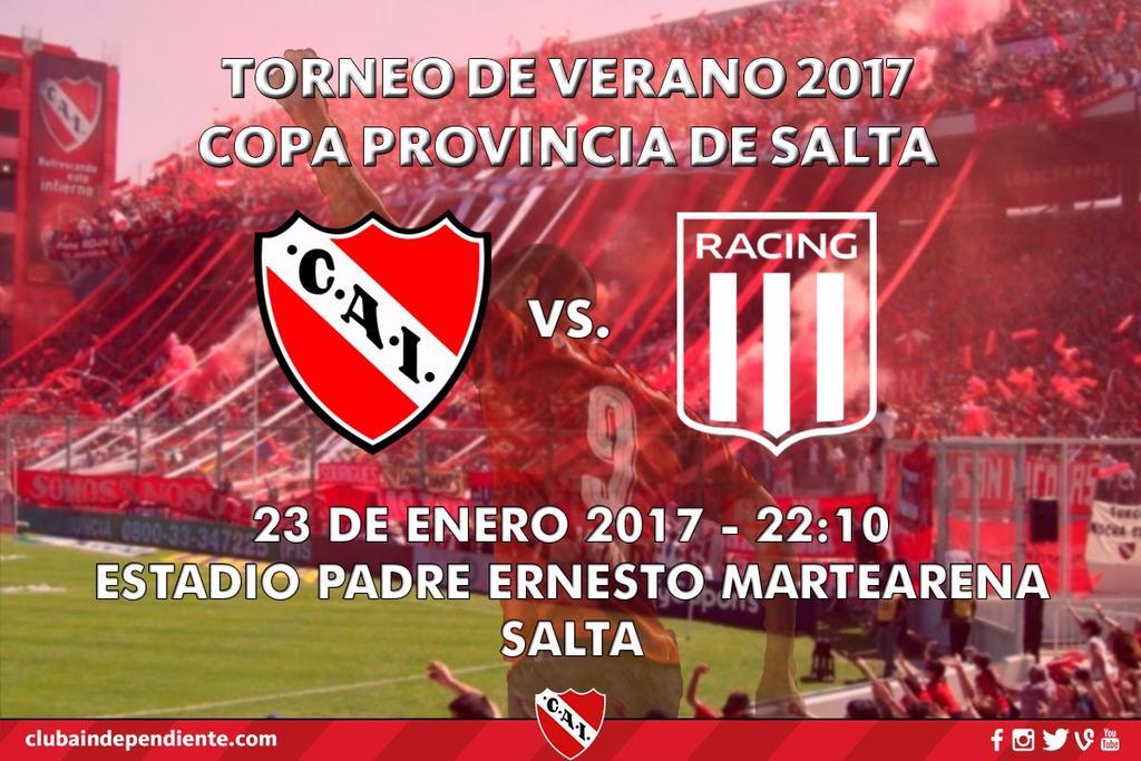 #CopaSalta - Esta noche el #ClasicoDeAvellaneda se muda a Salta.  #NoI...