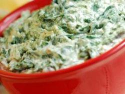Gluten-Free, Vegan Spinach Dip