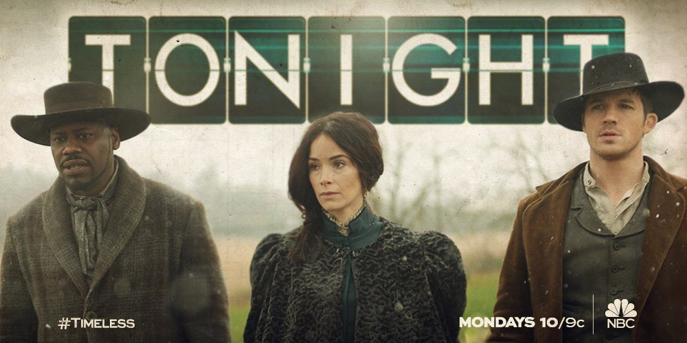 Let's get a move on, partner. #Timeless https://t.co/2HuZTDmX0h