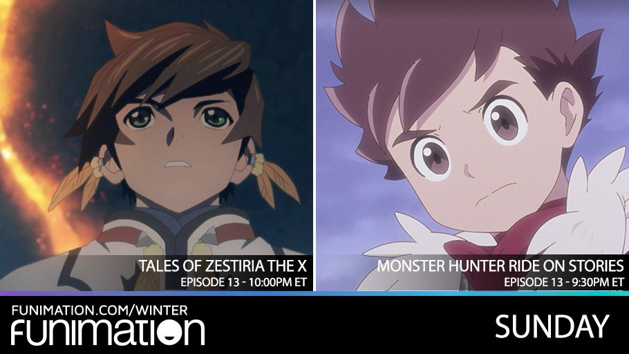 Funimation On Twitter See The Dubbed Episode 13 S Of Both Tales
