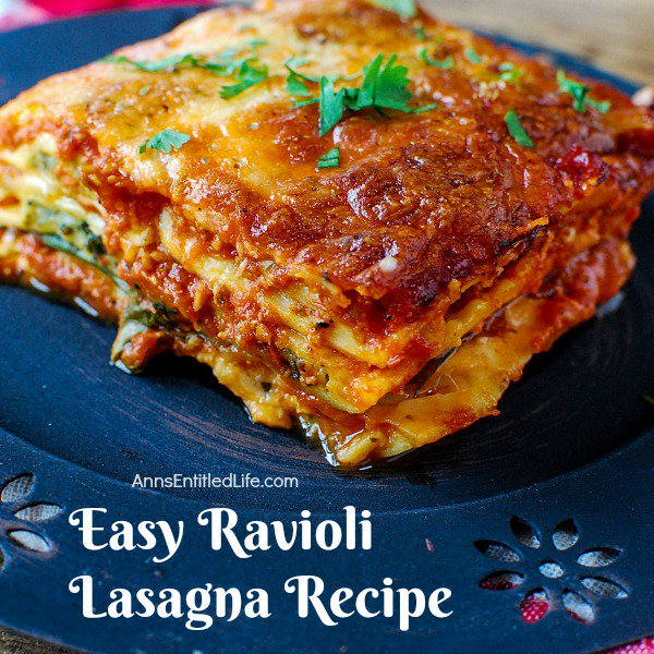 Easy Ravioli Lasagna Recipe