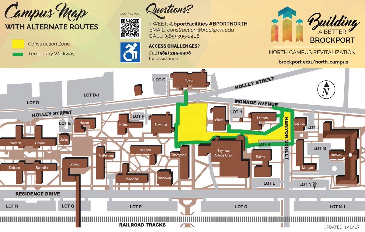 Brockport Campus Map | compressportnederland