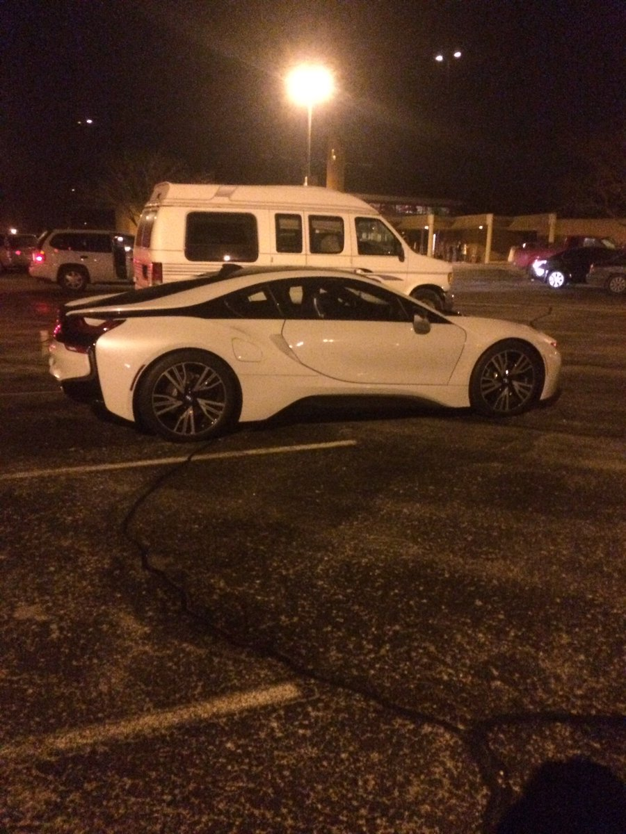 Jack Schmid On Twitter Saw The Bmw I8 Last Night In The St