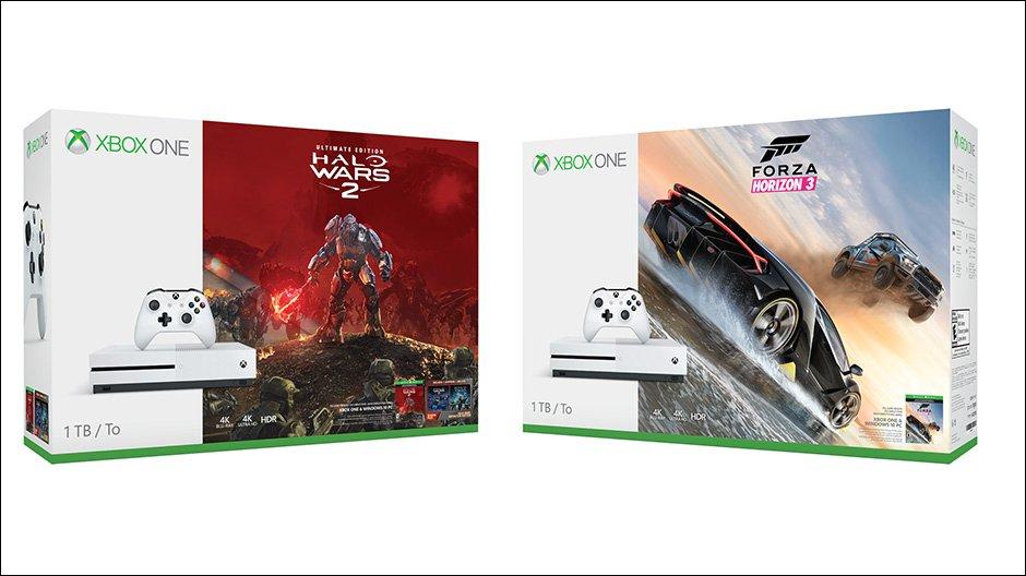 New 'Halo Wars 2' & 'Forza Horizon 3' Xbox One S bundles kick off...