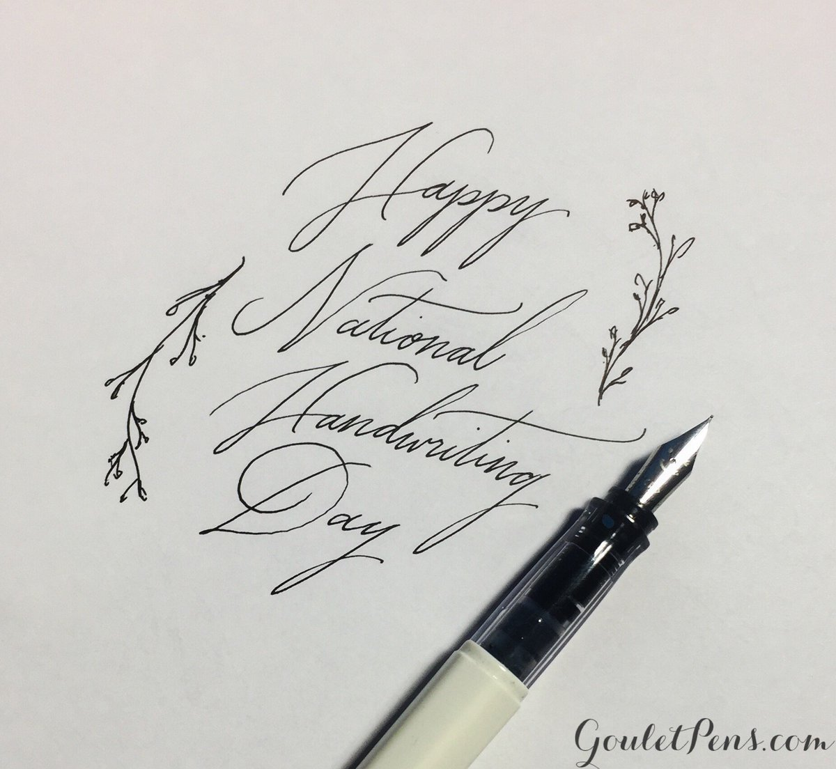 It\'s #NationalHandwritingDay! What pen & ink are you using today to celebrate?