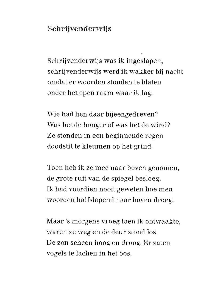Bibliotheek Brugge On Twitter Een Gedicht Van Guillaume
