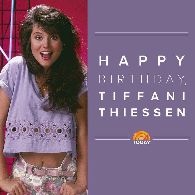 Tiffani Thiessen's Birthday Celebration