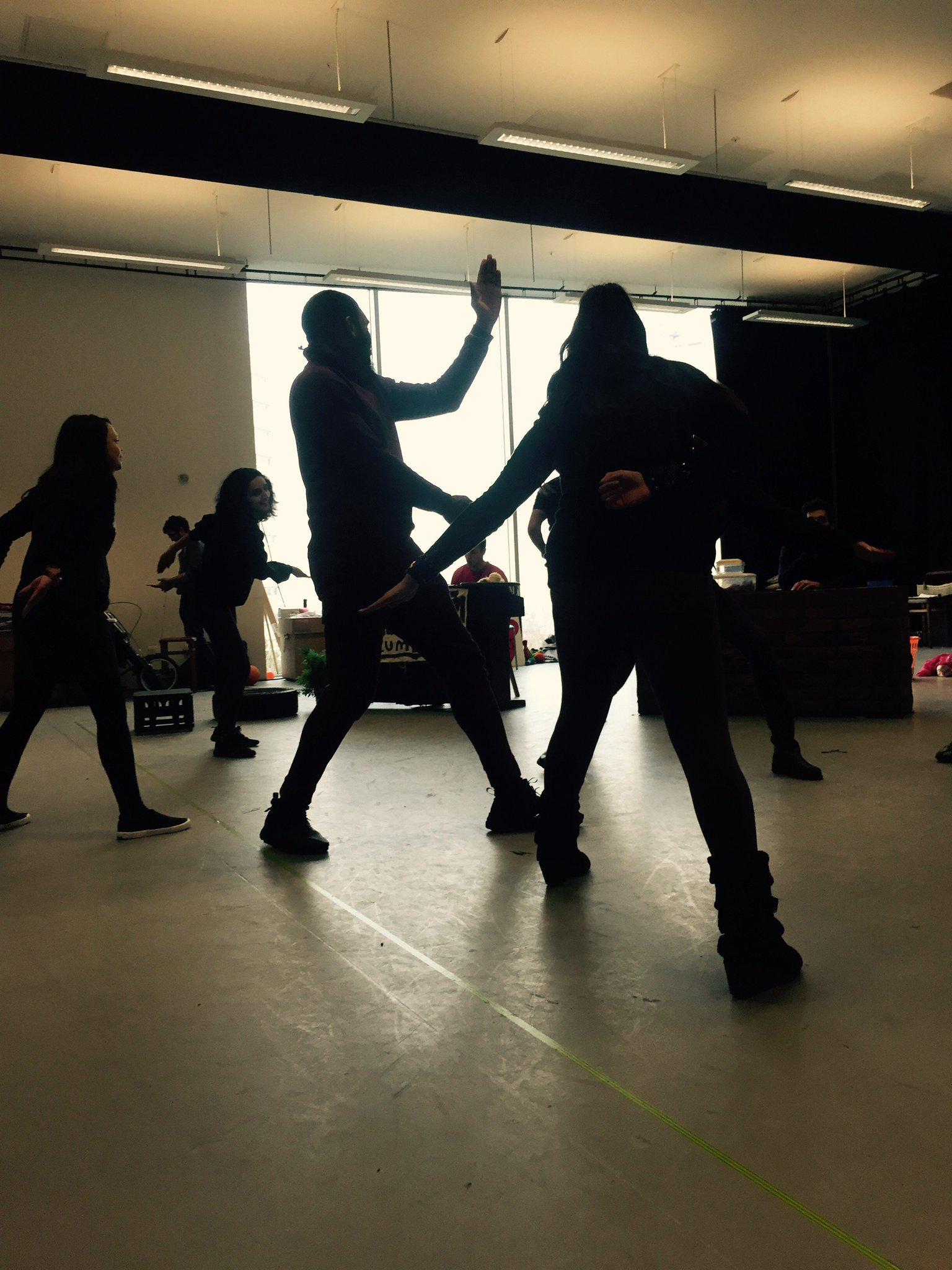 Ninja training 👊 #AnitaAndMe https://t.co/fCvGYyFYHP