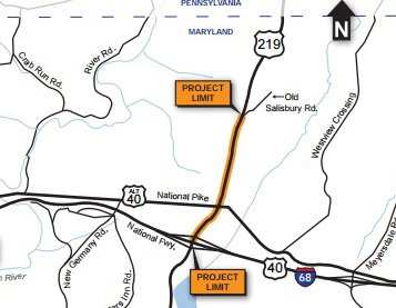 MD State Highway Adm On Twitter Garrett Co Public Meeting On US - Maps us 219 maryland