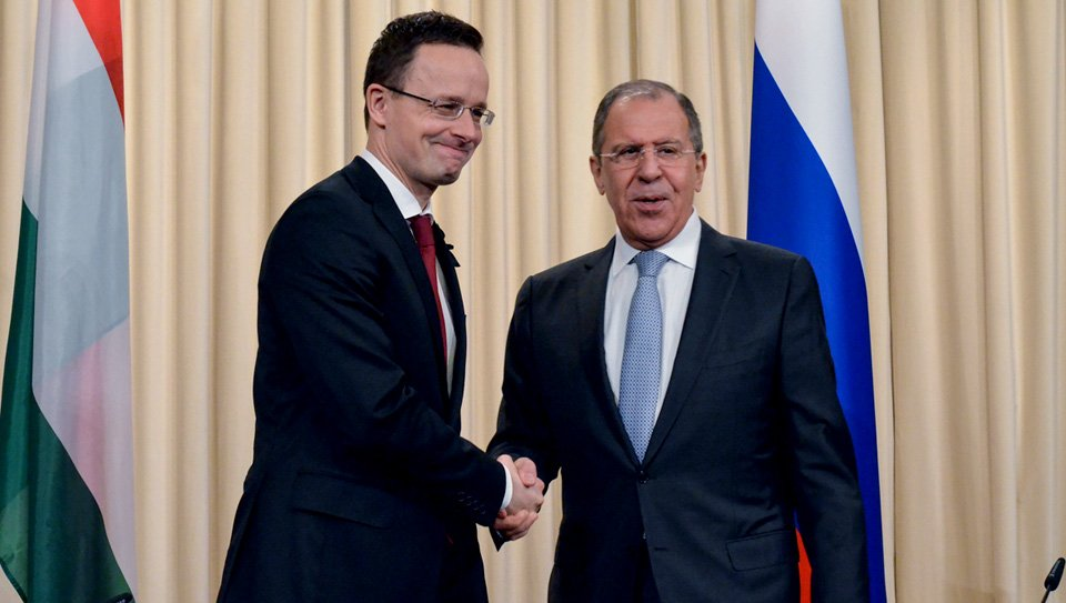 Thumbnail for Lavrov - Peter Szijjarto meeting in Moscow   Встреча С.Лаврова и главы МИД Венгрии