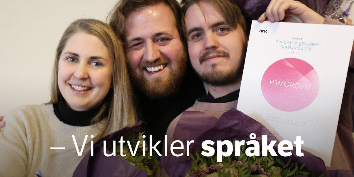 Nrk On Twitter P3morgen Fikk Pris For Dialektbruk I Radiosendingene Https T Co Pdhyrcnkof