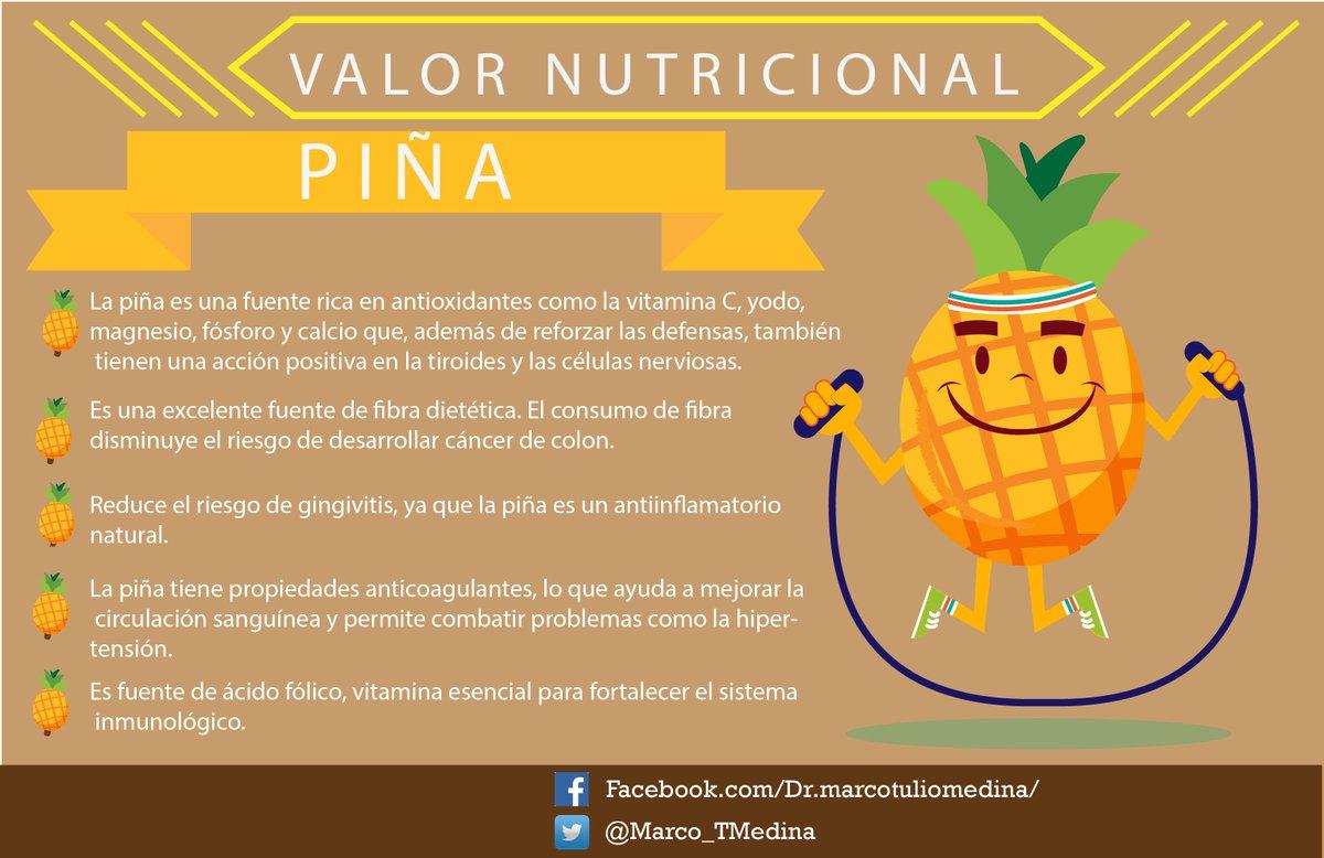 Marco Tulio Medina On Twitter Los Beneficios De La Piña Una Fruta Con Mucas Vitaminas Y Minerales