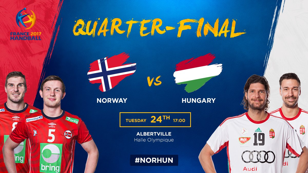 Which is the most exciting quarter-final ?  #Handball2017 #PhenomenalH...