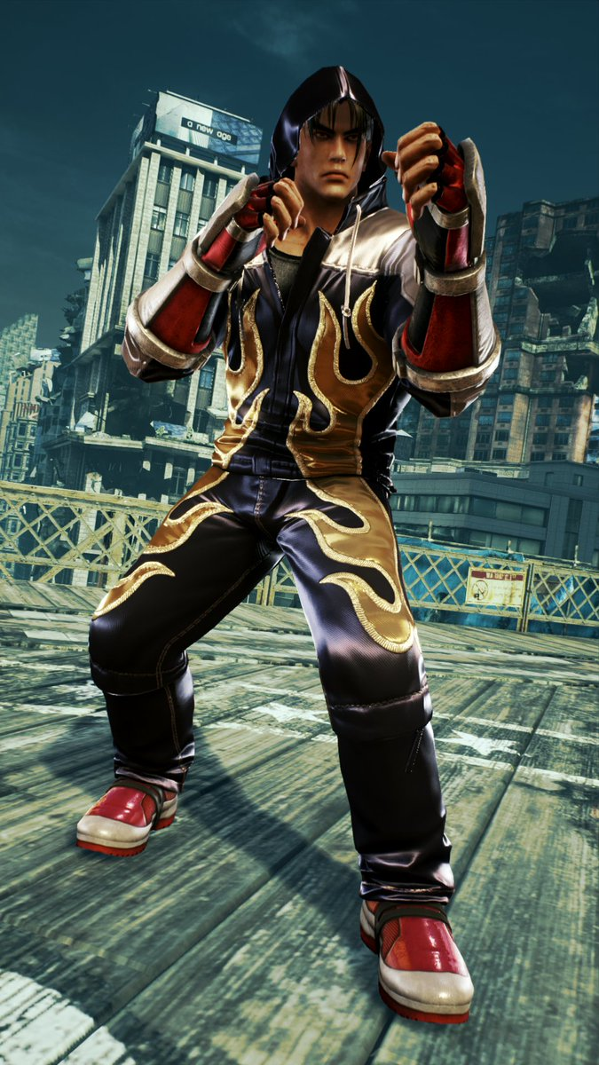 Yellowmotion On Twitter Jin Kazama Playstation 4 Exclusive Legacy Tekken 4 Costume For Tekken 7