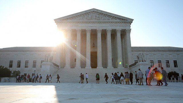 Supreme Court declines to hear Texas appeal over voter ID law: https:/...