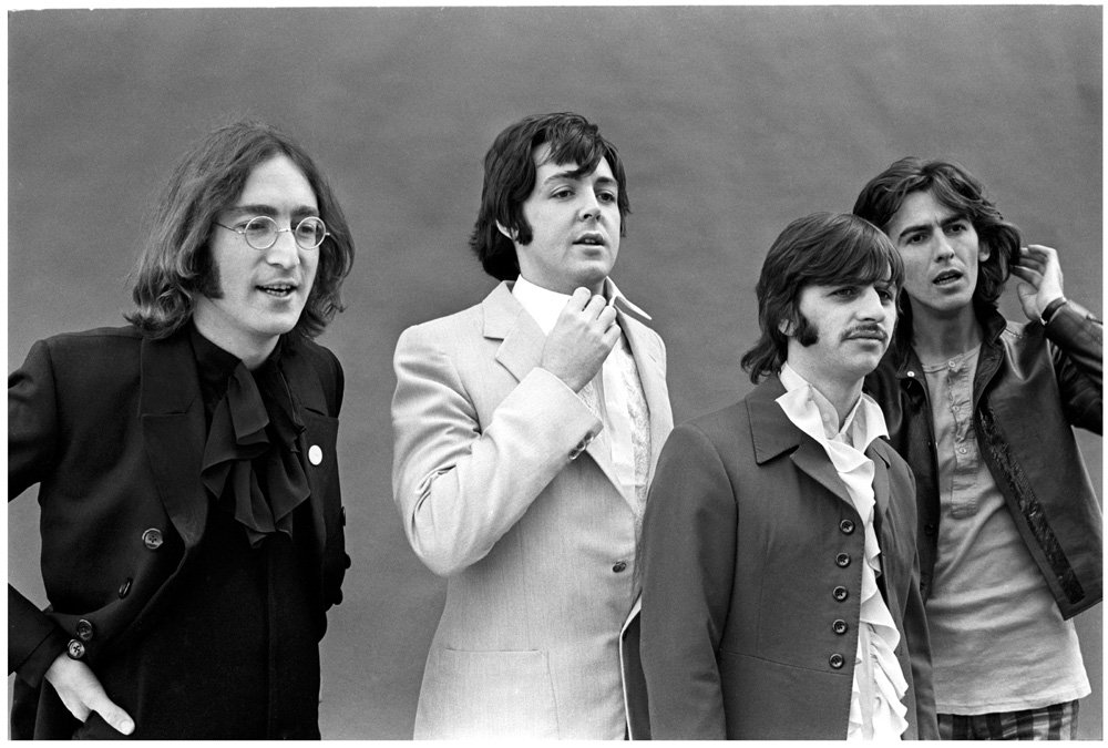 1968. A Mad Day Out, taking a little time off from recording the White...
