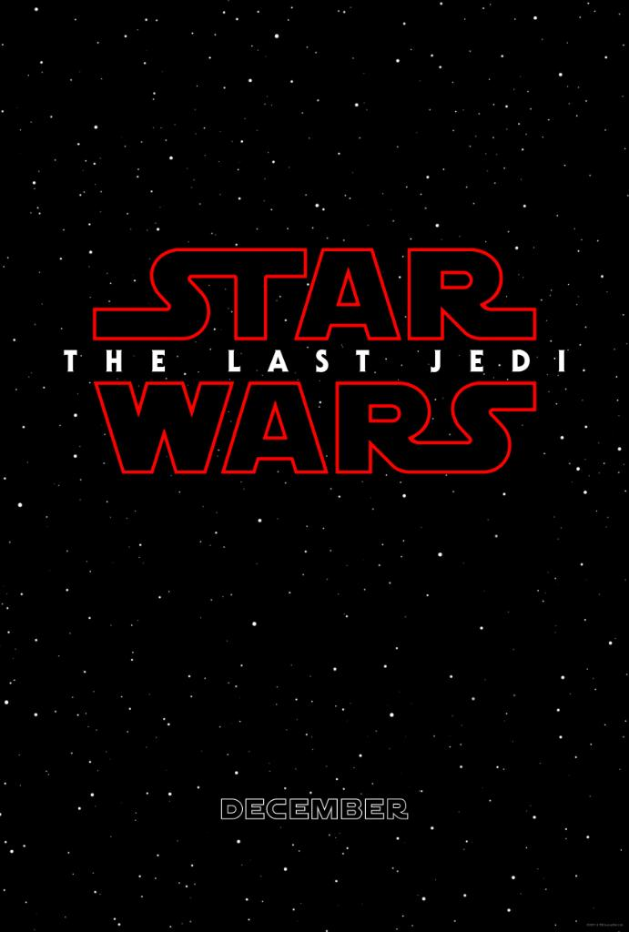 It's official. STAR WARS: THE LAST JEDI is the next chapter of the Skywalker saga. This December. #TheLastJedi https://t.co/ySkVwQcMTP