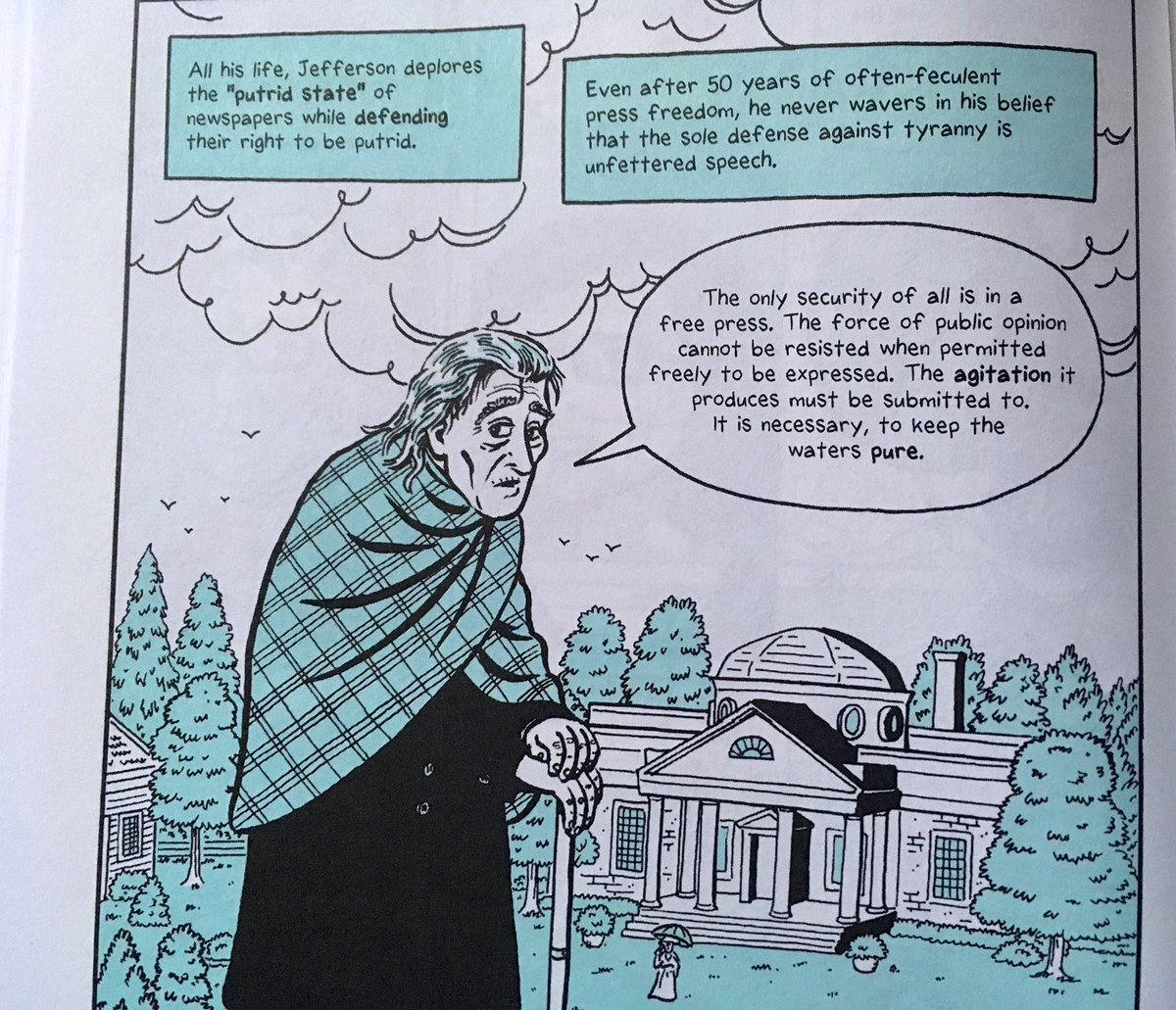 """Rob Hochschild on Twitter: """"Reading Brooke Gladstone's fabulous book of  graphic nonfiction, The Influencing Machine. This image from page 18 says  it all.… ..."""