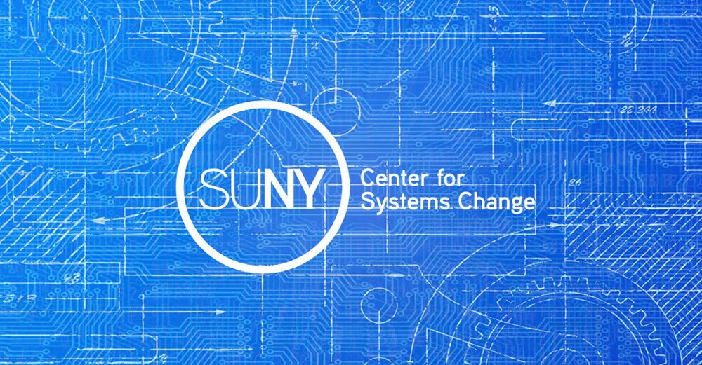 Announcing the SUNY Center for Systems Change—training program for every campus; collective effort to get better at getting better. #SOU2017 https://t.co/hEklPSbBps