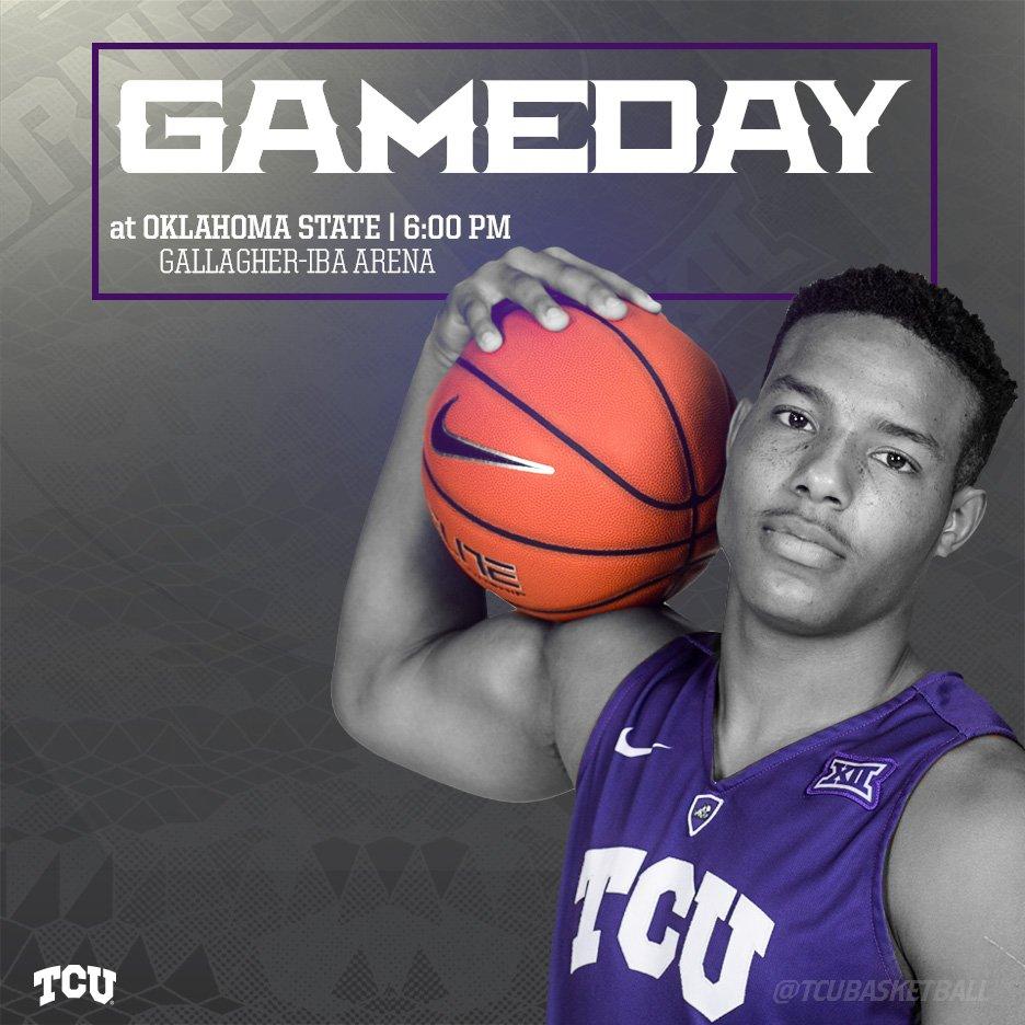 """TCU Basketball on Twitter: """"TCU at OSU tonight at 6 PM. # ..."""
