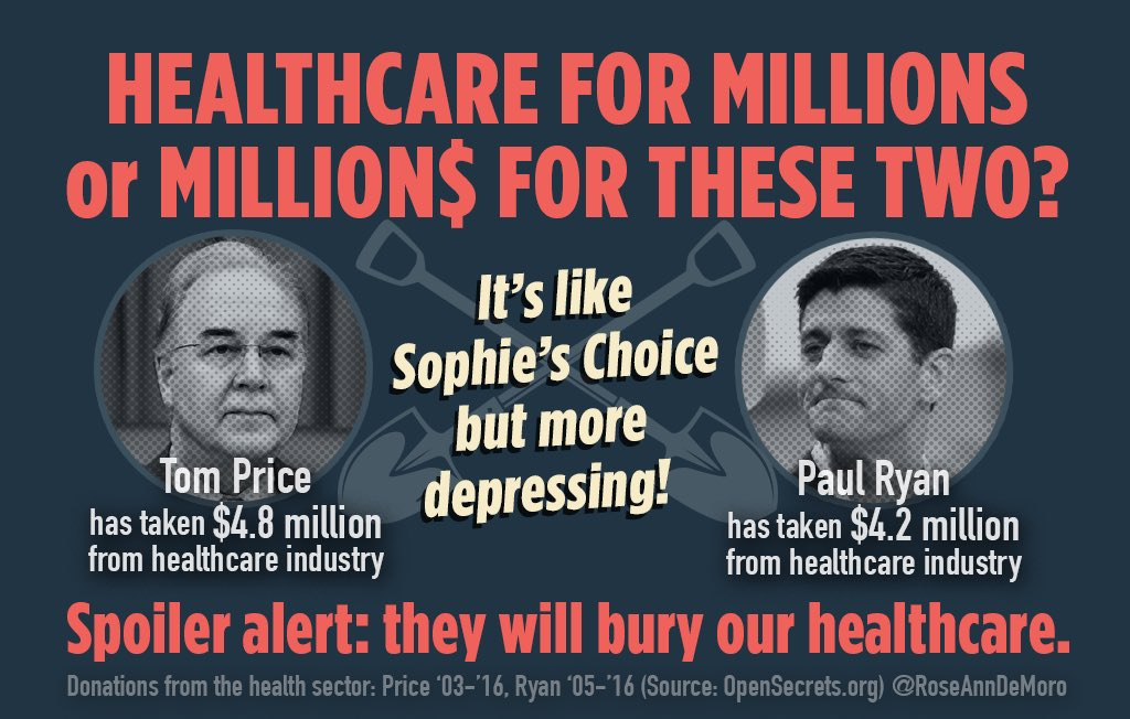 Fight @RepTomPrice or pay the #Price... that's our choice. #PriceIsWro...