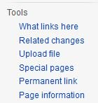 "For any WP article a handy tool is ""What links here"" - lists all WP articles that link to it find it on LHS of screen. #WCCWiki https://t.co/Ie2Ga7GW9L"