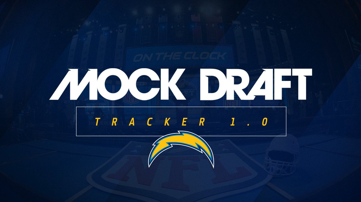 With the seventh overall selection, the Los Angeles #Chargers select.....