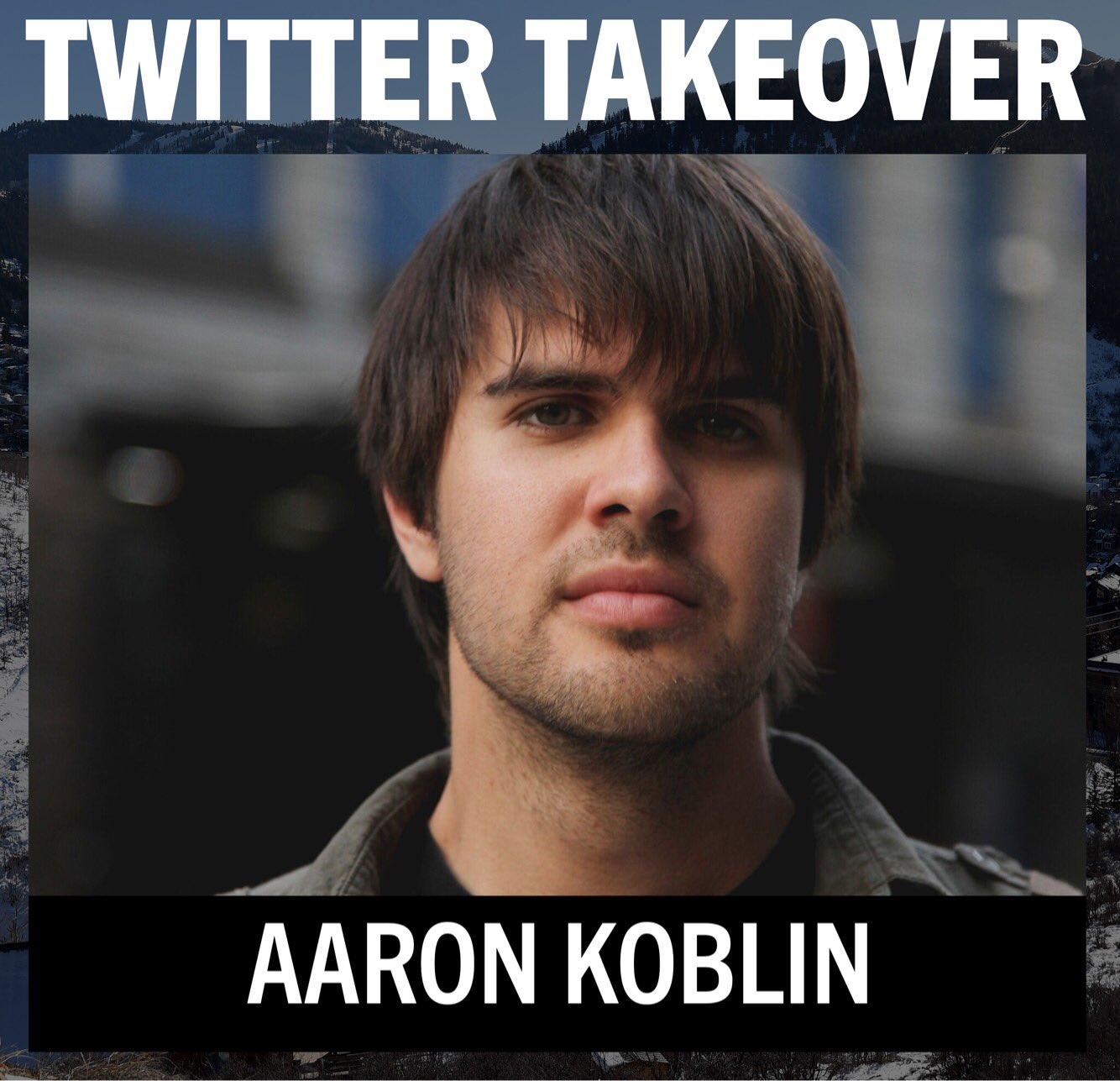 Thumbnail for Sundance 2017: Twitter Takeover - Aaron Koblin