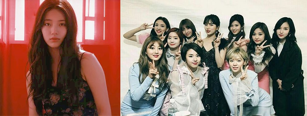 #TWICE Shows Their Support For #Suzy's Solo Debut Album On Social Medi...