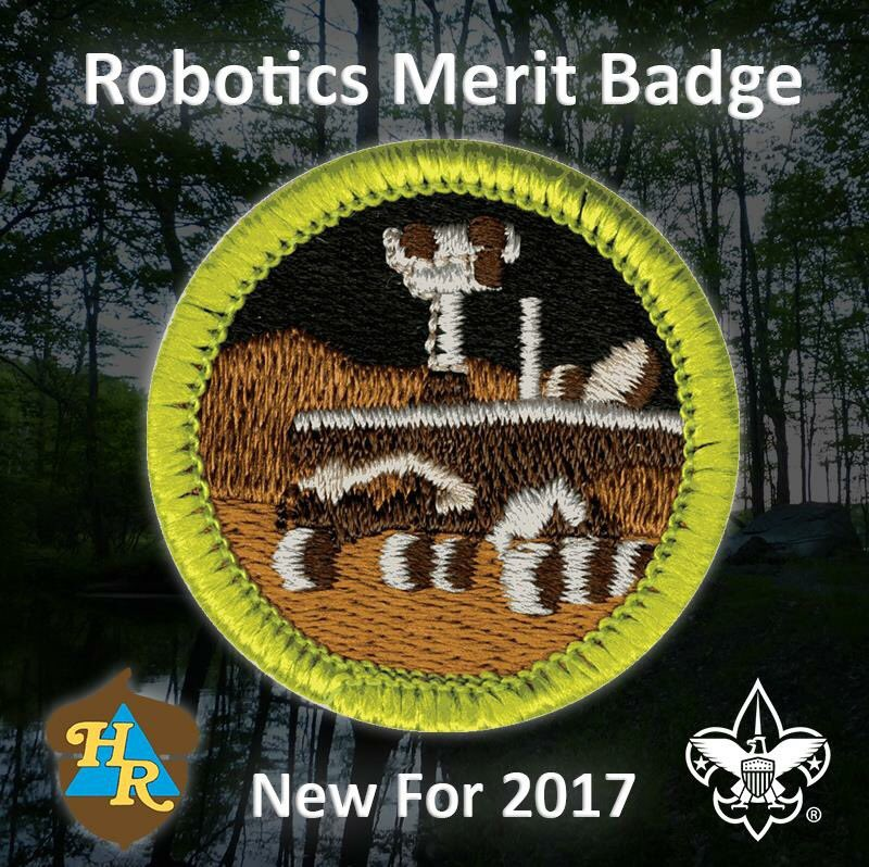 Heritage Reservation On Twitter Featuring Robotics Merit Badge For