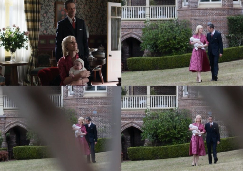 Sarah and George and little David 💕🙊👪 #APTCH https://t.co/0Vx1VsrNvp