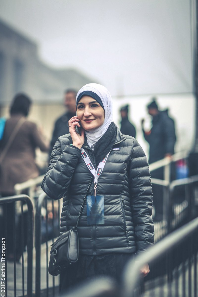We are proud to have @lsarsour as our co-chair. We will always have he...